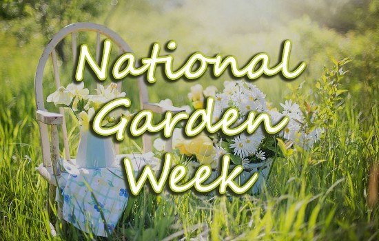 National Garden Week Banner