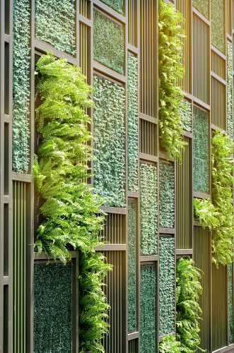 vertical gardens trend