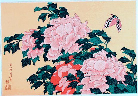 japanese botanical illustration