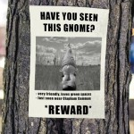 Fantastic Gardeners News Just-in: Case of Missing Gnomes Solved!