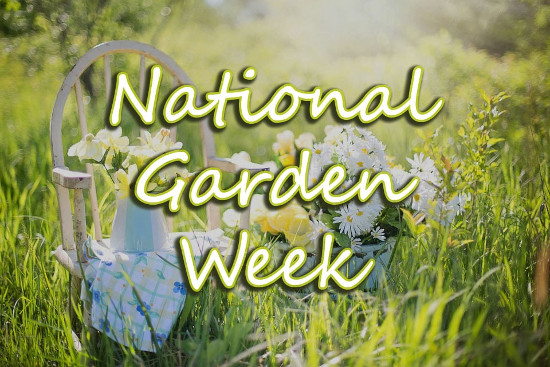National Garden Week Banner