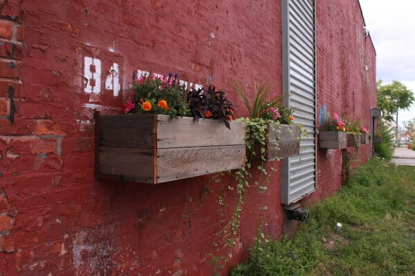 wall container gardening