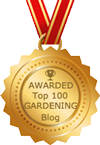Top 100 Gardening Blogs by Feedspot