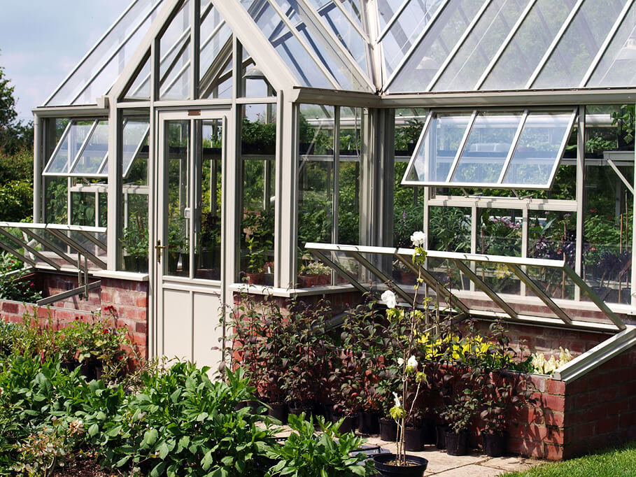 greenhouse or polyttunel